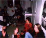 A Gathering in one of the Dorm Rooms
